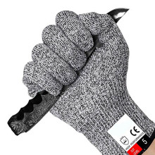 Cut-Resistant-Gloves Anti-Knife Fit Self-Defense Kitchen Outdoors Security Explosion-Proof