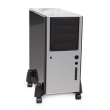 Case-Holder Computer-Accessory Cpu-Stand-Pc Desktop Adjustable-Size ABS Hosts-Tray Roll-Tower
