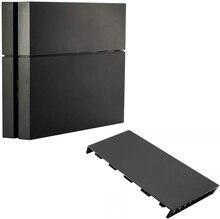 PS4 Solid Matte Black HDD Bay dysk twardy obudowa wymiana obudowy płyta czołowa do konsoli Playstation 4 akcesoria do konsoli do gier