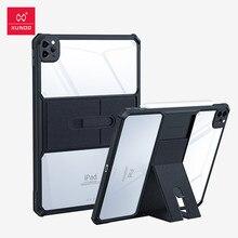 Para ipad pro 11 caso 2021, xundd capa protetora tablet, para ipad pro 11 2020 capa, transparente dobrável à prova de choque capa