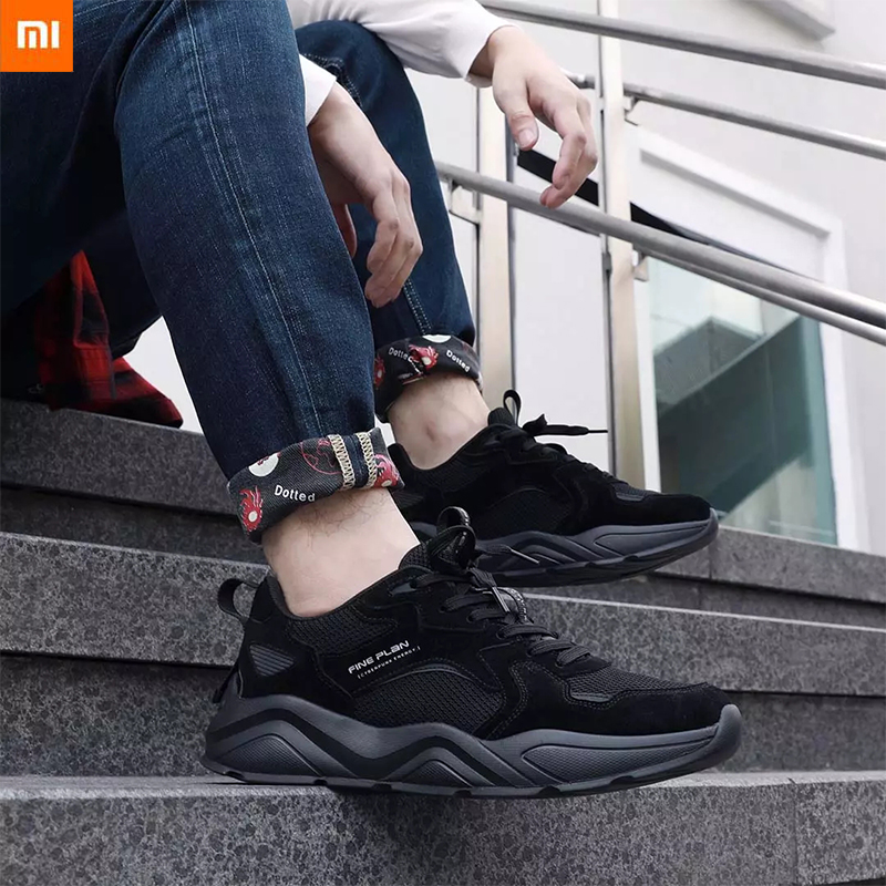Xiaomi Mijia FINE PLAN LJM004 Fashion Retro Shoes Reflective Men Women Sneakers Non slip Wear Resistant Sports Running Shoes|Smart Remote Control| - AliExpress