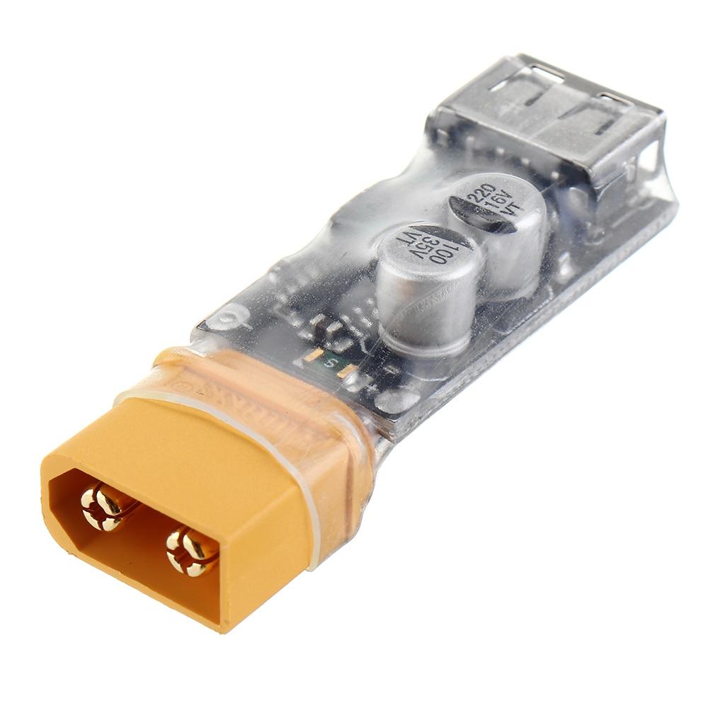 2-6S Lipo chargeur de batterie USB chargeur de charge rapide convertisseur QC3.0 avec prise XT60 pour RC Lipo batterie RC FPV Drone