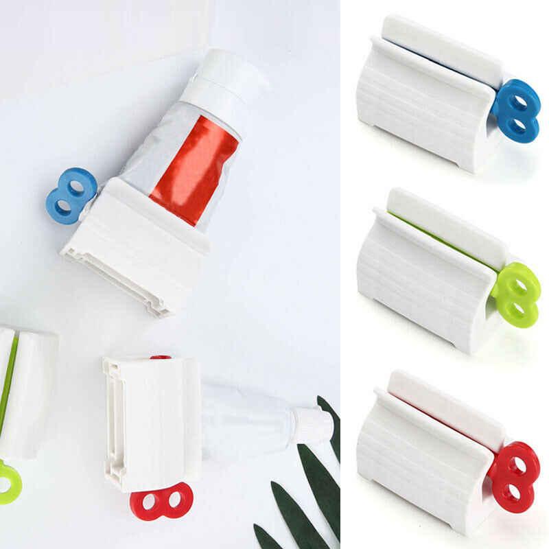 soporte para pasta de dientes Paquete de 8 tubos de pasta de dientes de varios colores dispensador de pasta de dientes extracto de ba/ño HOSL