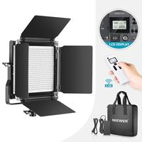 Neewer Advanced 2.4G 660 LED Video Light, Dimmable Bi Color LED Panel+LCD Screen and 2.4G Wireless Remote for Portrait Product