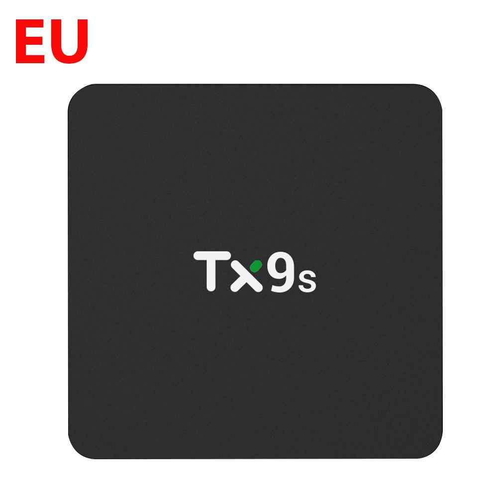 TX9S S912 4K Smart TV Box 2.4G Wifi H96Max Media Player Android Set Top Box Support 24 Bahasa