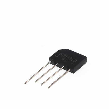 5PCS lot KBP310 SIP-4 Diy Elektronische Hohe Temperatur Löten 3A 1000V Diode Bridge Rectifier Einphasig brückengleichrichter