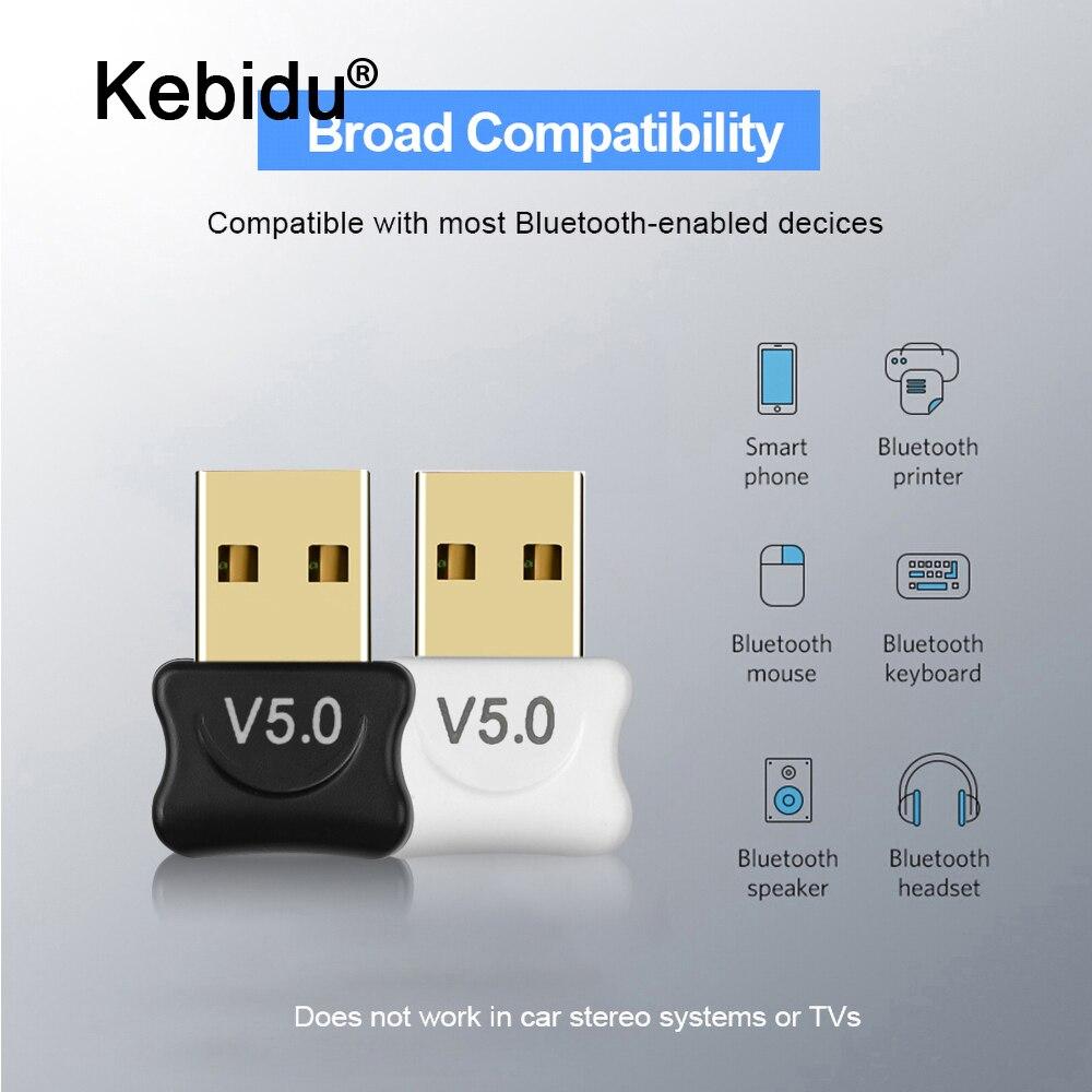 Беспроводной USB Bluetooth 5,0 адаптер мини Bluetooth ключ Музыкальный звук Bluetooth передатчик приемник адаптер для ПК компьютер|Адаптеры и брелки USB/Bluetooth|   | АлиЭкспресс