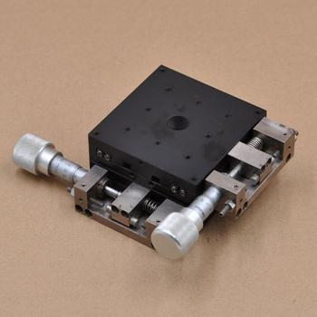 XY axis 2D CHUO LD-941-S1 manual high precision displacement platform optical fine adjustment slide iron