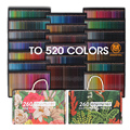 Andstal 520/260 цветные профессиональные масляные цветные карандаши для рисования набор цветных карандашей ed школьные товары для рукоделия