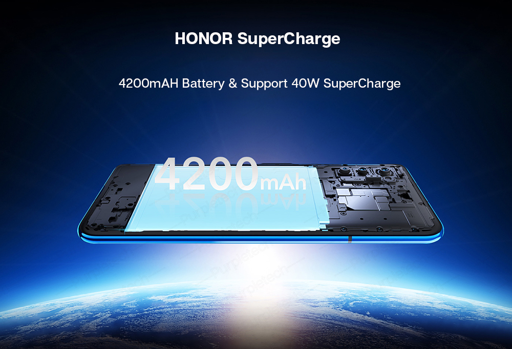 Original Honor V30 Kirin990 7nm Octa core 5G Smartphone 40w Super charge (10)