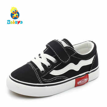 2019 Autumn New Children Canvas Shoes Girls Sneakers Breathable Spring Fashion Kids Shoes For Boys Casual Shoes Student - DISCOUNT ITEM  45% OFF All Category