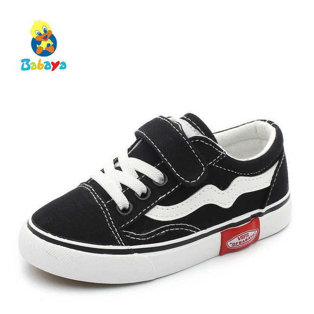 Autumn New Children Canvas Breathable Spring Fashion Kids Shoes For Boys