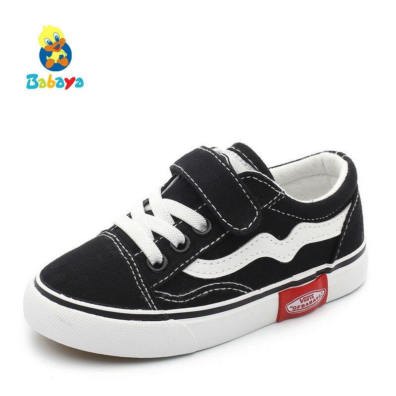 2019 automne nouveaux enfants toile chaussures filles baskets respirant printemps mode enfants chaussures pour garçons chaussures décontractées étudiant