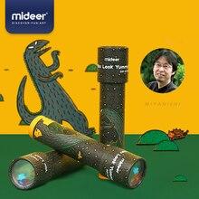 MiDeer детская Волшебная вращающаяся игрушка калейдоскоп MIYANISHI Tatsuya серии динозавров Детская поли игрушка-Призма для детей 3Y