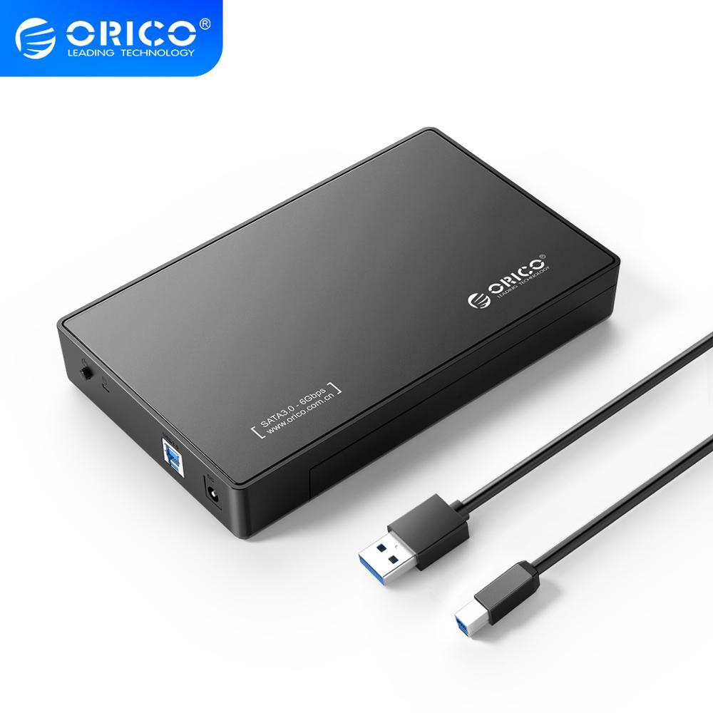 ORICO 3.5 pouces boîtier de disque dur USB3.0 à SATA disque dur externe boîtier de disque dur sans outil 8 to pour 3.5