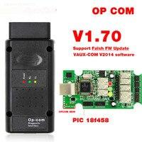 2019 op com para opel v1.70 obd2 op-com scanner de diagnóstico do carro real pic18f458 opcom para opel carro ferramenta de diagnóstico flash firmware