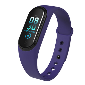 20Pcs/lot M4 Bracelet Smartband Watch Heart Rate Monitor Fitness Tracker Activity Blood Pressure Bluetooth Android Ios