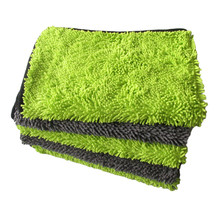 40*60 Chenille Microfiber Towel Car Wash Cloth car detailing tools Cleaning Drying Towels Thick Polished Towel Car Care Products