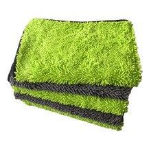 40*60 シェニールマイクロファイバータオル洗車布車ディテールツールクリーニング乾燥タオル厚いポリッシュタオルカーケア製品