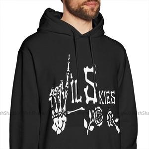 Image 2 - Lil Skies Hoodie Lil Skies Hoodies Long Length Warm Pullover Hoodie Male Cool Black Loose Oversize Cotton Hoodies