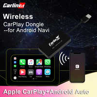 Carlinkit CarPlay Dongle for Android Navigation Player Mini USB Carplay Stick with Android Auto