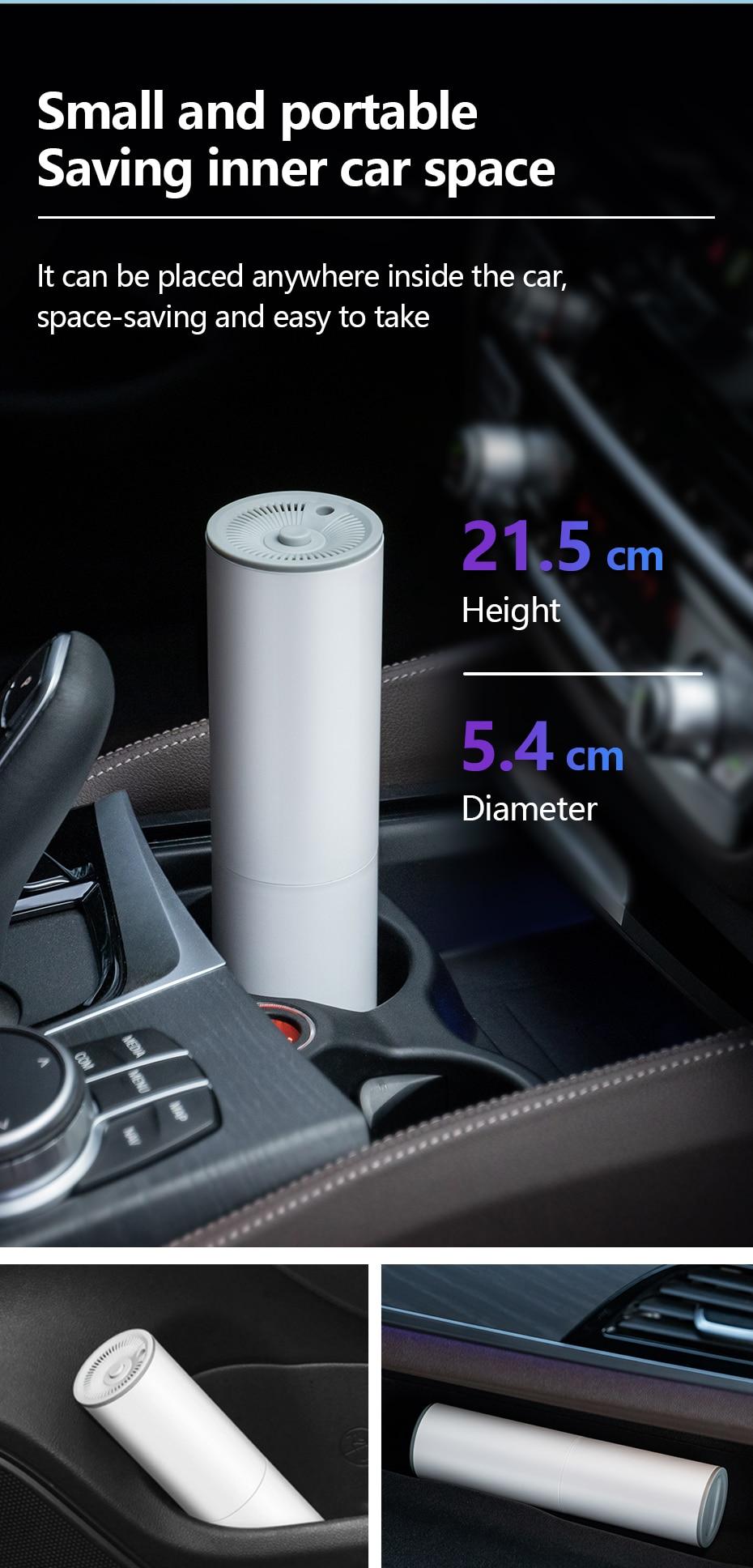 Drahtloser tragbarer Auto-Staubsauger
