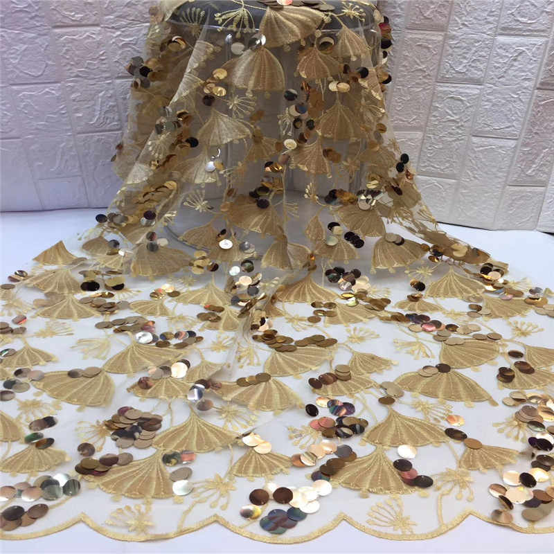 Madison в африканском стиле кружевной ткани с блестками бархатная ткань с кружевом для вечерние свадебное платье французская Тюлевая ажурная кружевная ткань с блестками