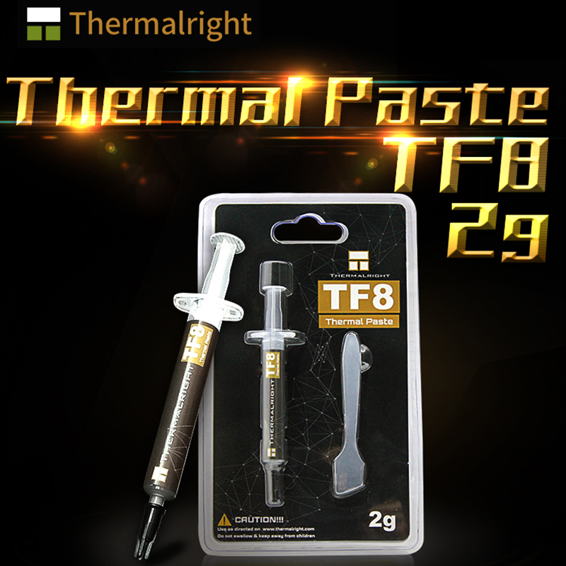 Thermalright TF8 Thermal Paste 13.8 W/mK Conductivity, 2g Content , Grease Used For Notebook CPU GPU Card