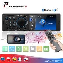 AMPrime 4022D 4.1 cyfrowy ekran 1Din obsługa radia samochodowego USB AUX FM BT KIEROWNICA pilot zdalnego sterowania z kamera cofania