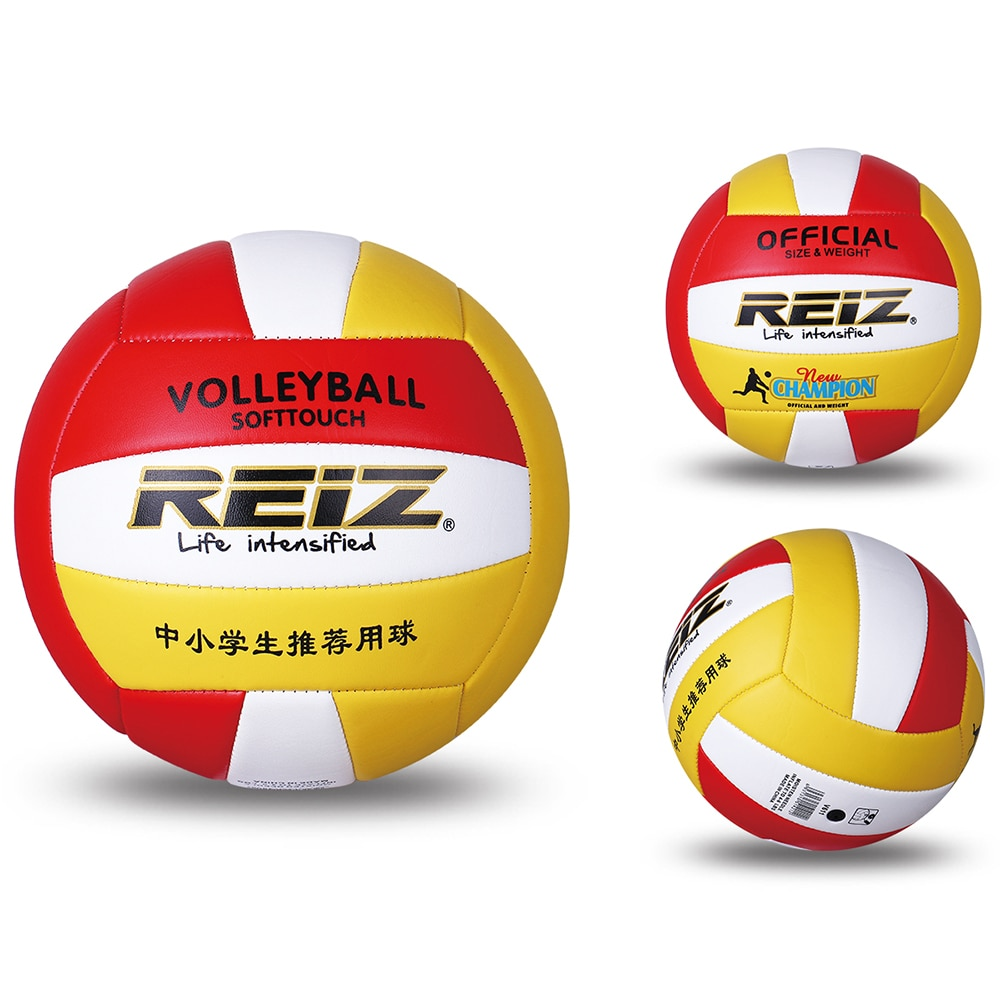 Soft Leather Volleyball Teenager Adult Indoor Outdoor Training Volleyball With Storage Net Bag And Pumping Needle