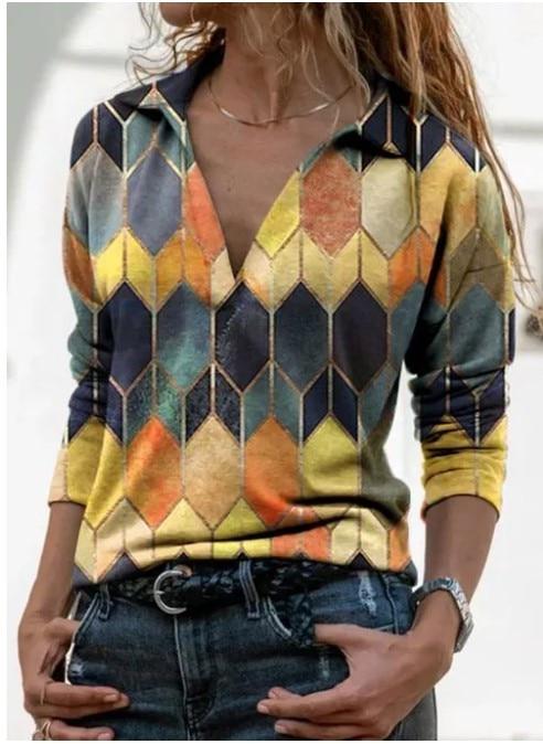 Aprmhisy Graphic Shirts Women Autumn New Long Sleeve Casual Streetwear Blouse Shirt Blusas Femininas 14