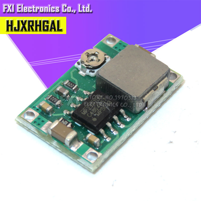 5pcs RC Airplane Module Mini 360 DC Buck Converter Step Down Module 4.75V-23V To 1V-17V 17x11x3.8mm New LM2596 2A