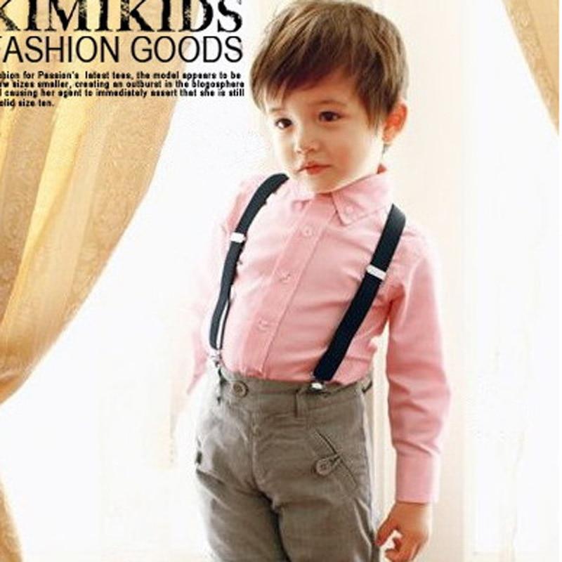 1PC Kids Elastic Suspenders Matching Unisex Boy Girl Children Costume Adjustable Y-Back Brace Belt