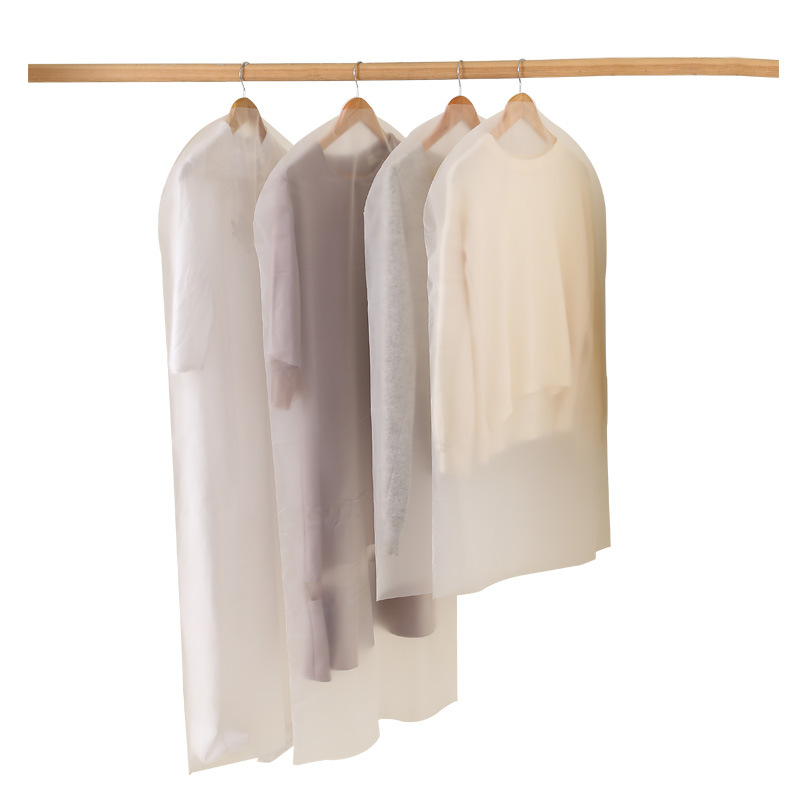 Transparent Clothes Dust cover Dress Coat Suit Covers  Garment Bag Home Storage Bag Wardrobe closet Organizer|Clothing Covers| |  - title=