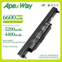 Apexway 6 cell X55A Батарея A32-K55 для ASUS x45 x45a x45c X45V X45U X55 X55C X55U X55V X75 X75A X75V X75VD U57 U57A U57V U57VD