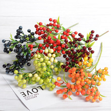 Ivy Red Berry Berries Bush Bouquet Christmas Vine Holly Xmas Festive Fern Home Office FAS6 косметичка senz fern indie red 6015004