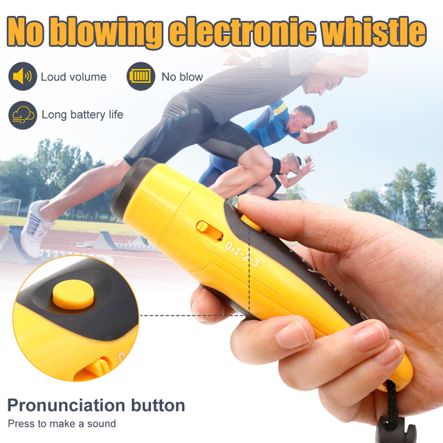 Outdoor Sports Electronic Whistle Ball Game Loud Portable Soccer Referee Fitness