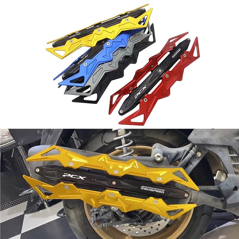 Купить semspeed защита выхлопной трубы мотоцикла cnc противоударный