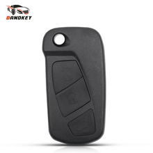 Сменный складной чехол Dandkey для автомобильного ключа с 3 кнопками, чехол для ключа Ford KA MK2, чехол для ключа с дистанционным управлением, корпу...