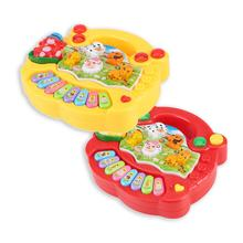 2020 Hot Sale Musical Instrument Toy Baby Kids Animal Farm Piano Developmental Music Educational Toys For Children Gift
