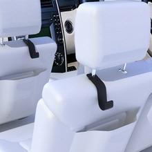 2pcs Car Seat Hook Universal Car Seats Hook Car Headrest Hanger Organizer Storage Hooks For Holding Grocery Bags Purses 5-10kg