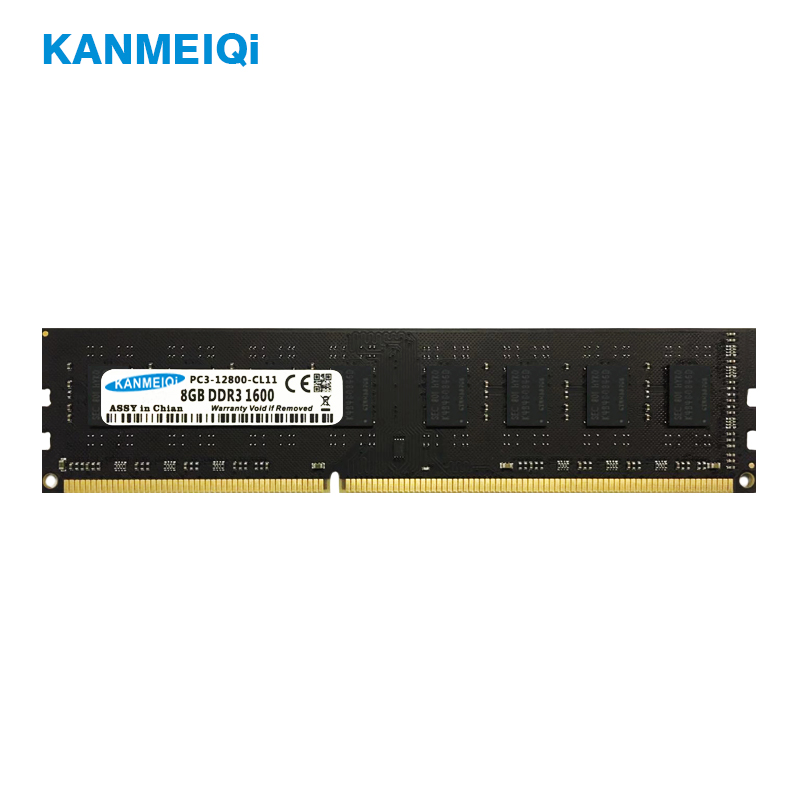 KANMEIQi Ram DDR3 2G 4G 8G 1333MHZ 1600/1866mhz Desktop Memory With Heat Sink 240pin 1.5v New DIMM CL9