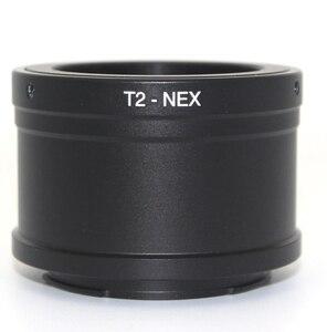 Image 4 - Anel adaptador de lente t2 t para canon, nikon, sony, dslr, nex e mount a6500, a7, a7r, m4/3 câmera gh4 gh5 pentax pk olympus om