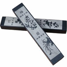 Large Paperweight Portable Stone Paper Weights 2pcs Chinese Calligraphy Pen Ink Painting Creative Paper Weight Pisapapeles