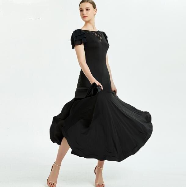 New Ballroom Dance Competition Dress Dance Ballroom Waltz Dresses Standard Dance Dress Women Ballroom Dress Y078