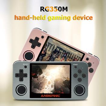 POWKIDDY Retro RG350M gra wideo przenośna konsola 3 5 calowy ekran IPS 16GB odtwarzacz gier System Open Source prezent dla dzieci tanie i dobre opinie RG350M Video Game