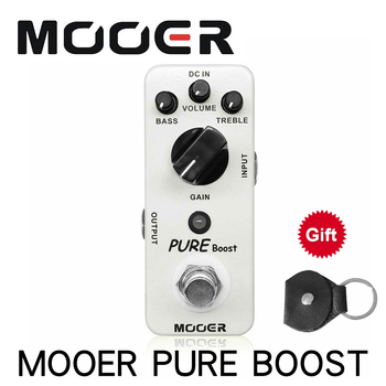 Mooer MBT2 Pure Boost Micro Mini Boost Effect Pedal for Electric Guitar True Bypass