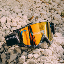 New PIT VIPER UV400 Double Layers Anti-fog Ski Goggles Sport Snow Snowboard Eyewear Men Women Snowmobile Mask Motocross Goggles
