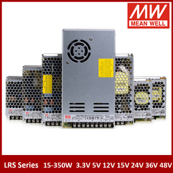 MEAN WELL RS-15 25 35 50 75 100 150 200 350W 3.3V 5V 12V 15V 24V 48V meanwell LRS Series Single Output Switching Power Supply