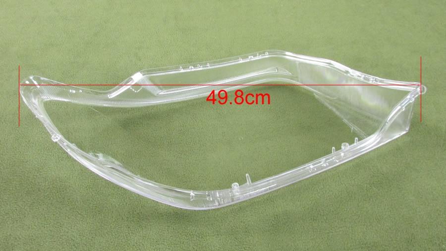 For Mitsubishi Outlander 2004 2005 2006 Headlight Cover Lamp Shade Headlights Shell Lampshade Headlamp Glass Headlight Lens